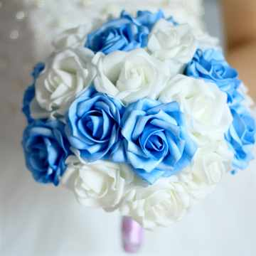 Искусственный букет невесты своими руками