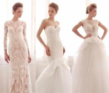 Свадебное платье на полную фигуру фото