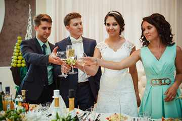 поздравление оригинальное на свадьбу от свидетеля