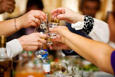 Что пить перед свадьбой