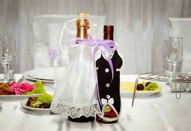 Как сделать бокалы на свадьбу фото 30