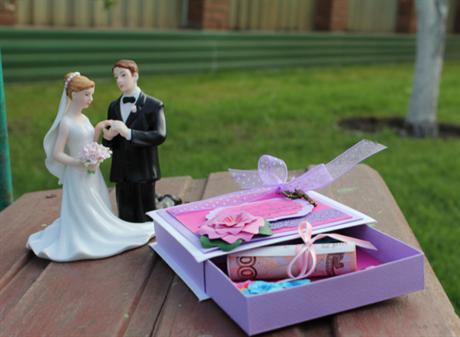 Подарок сувенир на свадьбу своими руками