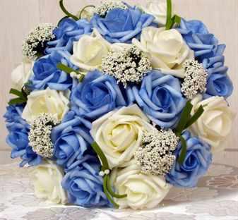 Свадебный букет из искусственных цветов своими руками: мастер 20