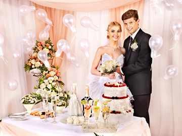 Атрибут для свадьбы своими руками