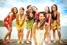 свадьба в гавайском стиле