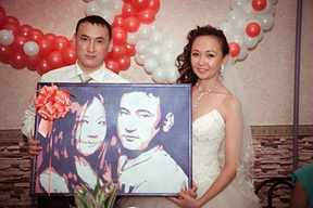 Подарок на свадьбу молодожены друг другу 232