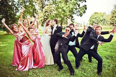 Поздравление с танцем на свадьбу