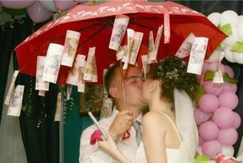 Поздравление на свадьбу в интересной форме
