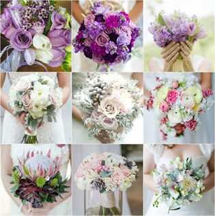Букет невесты к платью цвета айвори