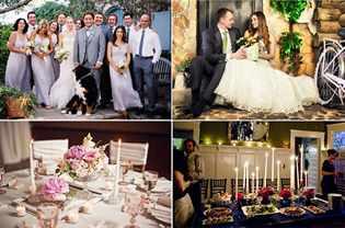 Небольшой сценарий на свадебный вечер