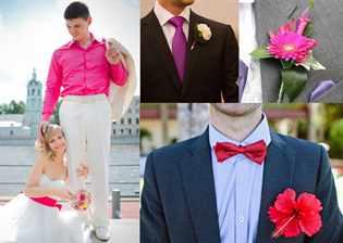 Сочетания Свадебного Платья С Костюмом И Рубашкой Жениха