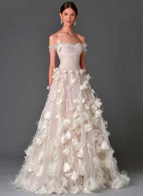 Какие модные свадебные платья 2017