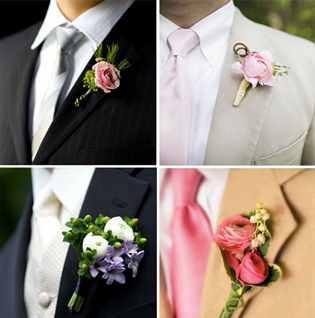 Бутоньерка для невесты своими руками фото 896