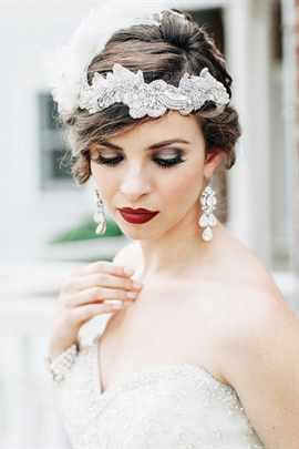 Яркий макияж - для яркой невесты 72