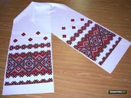 Правило вышивки рушника
