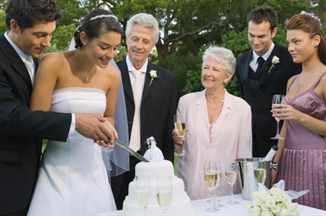 Слова благодарности от молодых на свадьбе