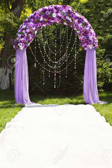 Арки своими руками на свадьбу