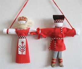 Куклы обереги своими руками неразлучники