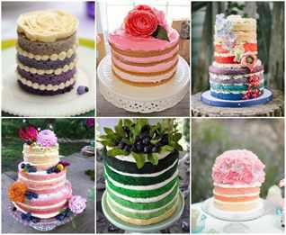Как сделать коржи для разноцветного торта 597