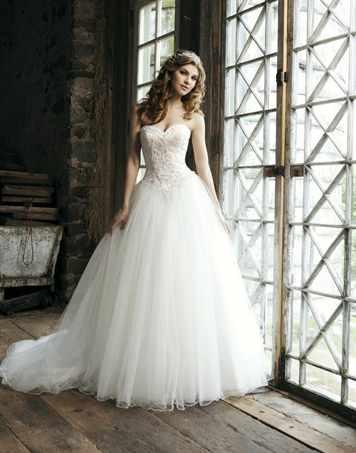 Свадебное платье а-силуэт сшить своими руками6