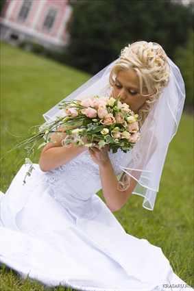 Фото свадебные прически фото невест