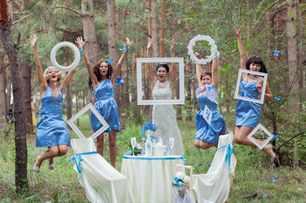 Свадебные реквизиты своими руками
