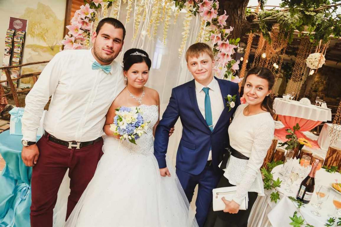Свидетелей на свадьбе фото