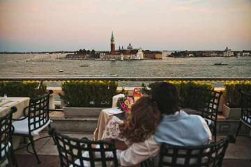 Молодожены в Венеции