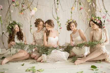 Девушки на фотосессии
