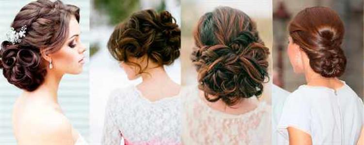 Прически для невесты на средние волосы