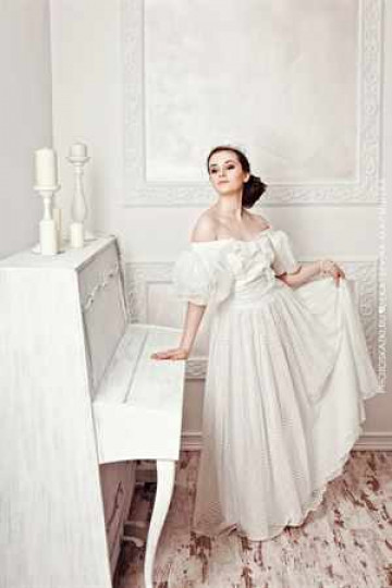 Купить свадебное платье винтаж