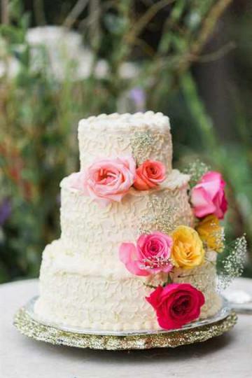 Торт к свадьбе своими руками домашний