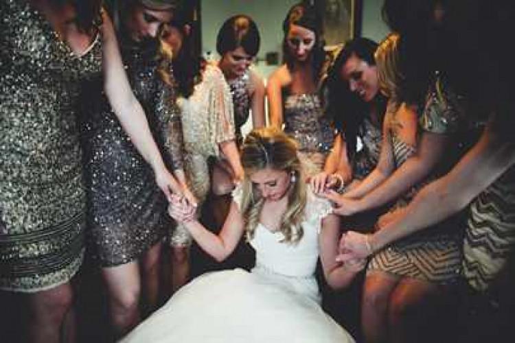 Невеста и подружки