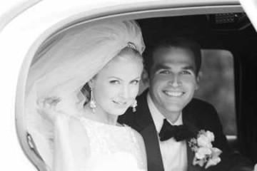 Молодожены едут в свадебное путешествие