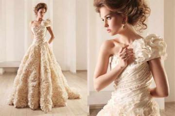 Свадебное платье шампать