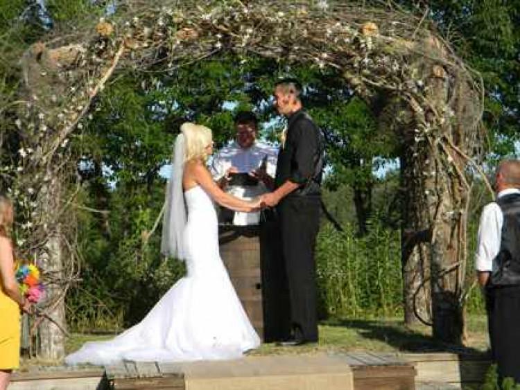 Сделать своими руками арку на свадьбу