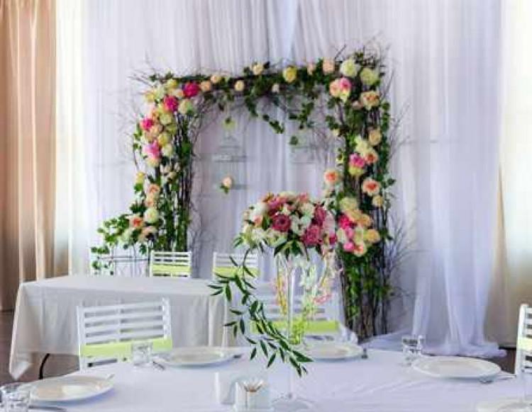 Как самой сделай арку на свадьбу 17