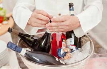 Алкоголь на свадебный стол