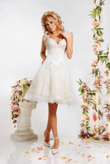 Платье свадебное на маленький рост фото