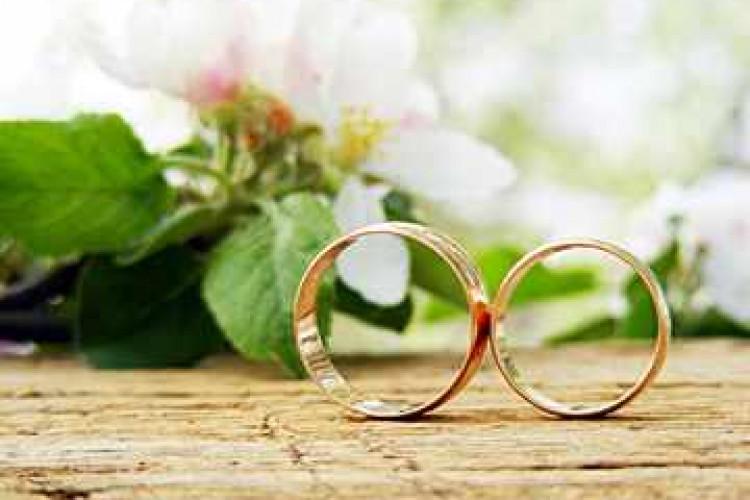 Плоские обручальные кольца