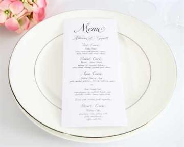 Составляем свадебное меню