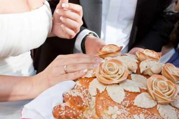 Серебряная свадьба дома в русском стиле