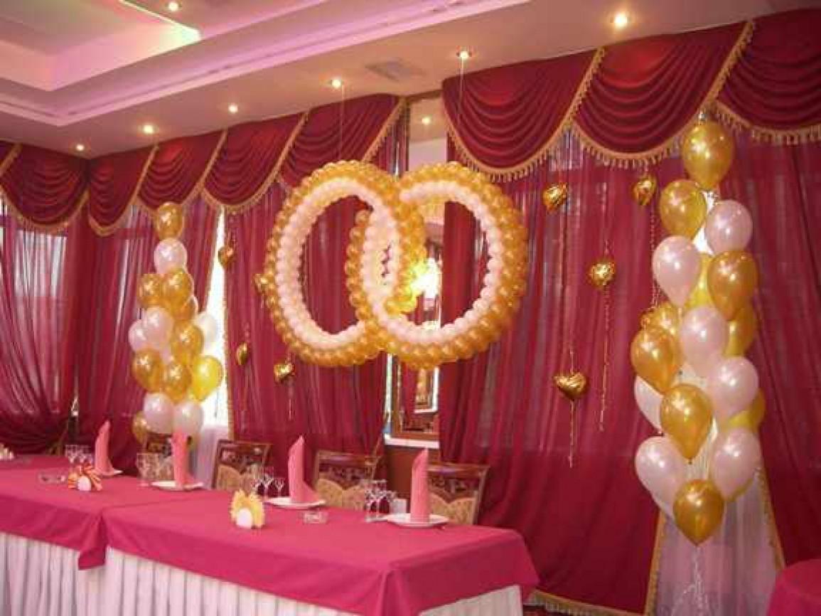 Арки из шаров на свадьбу своими руками