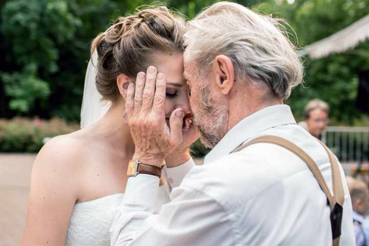 Танец на свадьбе отца и невесты