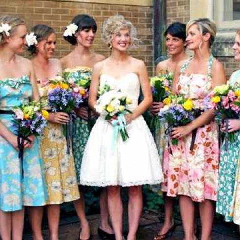 Модный наряд на свадьбу для