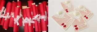 пригласительные на красную свадьбу