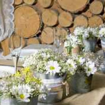 украшение стола для гостей