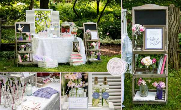 40-shabby-chic-wedding-vases-frames-wood-lilac-pink