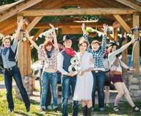 наряд гостей на свадьбу в стиле вестерн