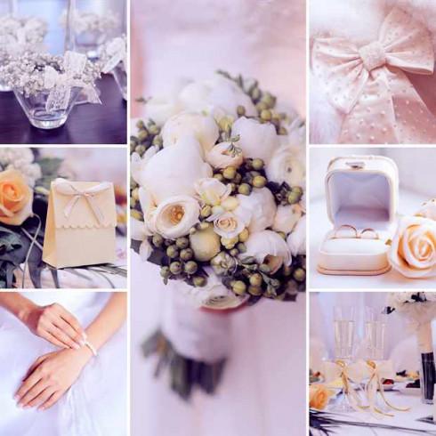 сиреневое оформление свадьбы